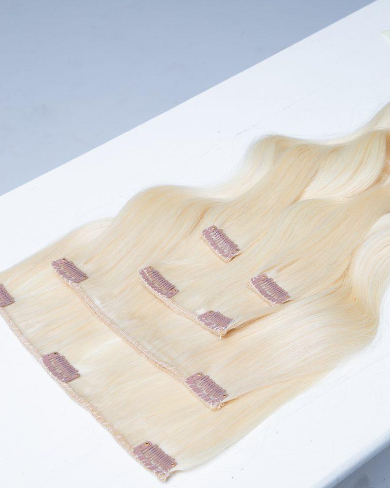 extension clip blonde