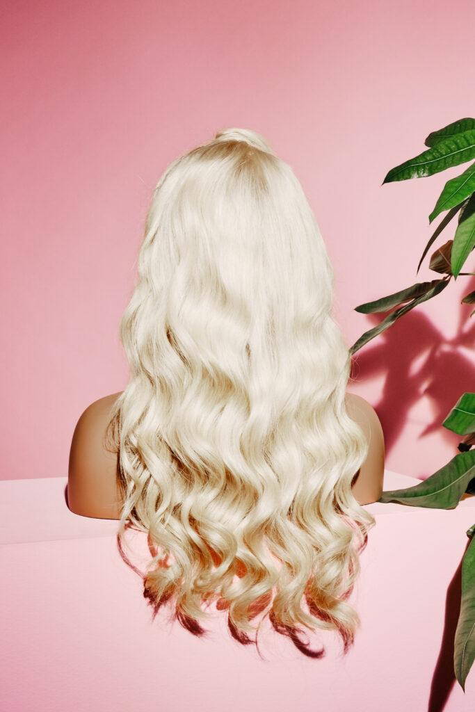 blonde wig natural hair