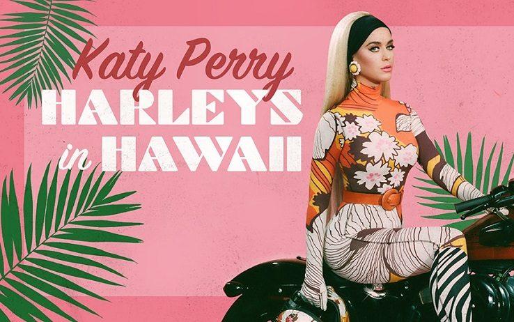 """Harleys in Hawaii"" by Katy Perry cover"