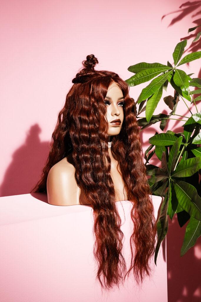 natural long hair wig