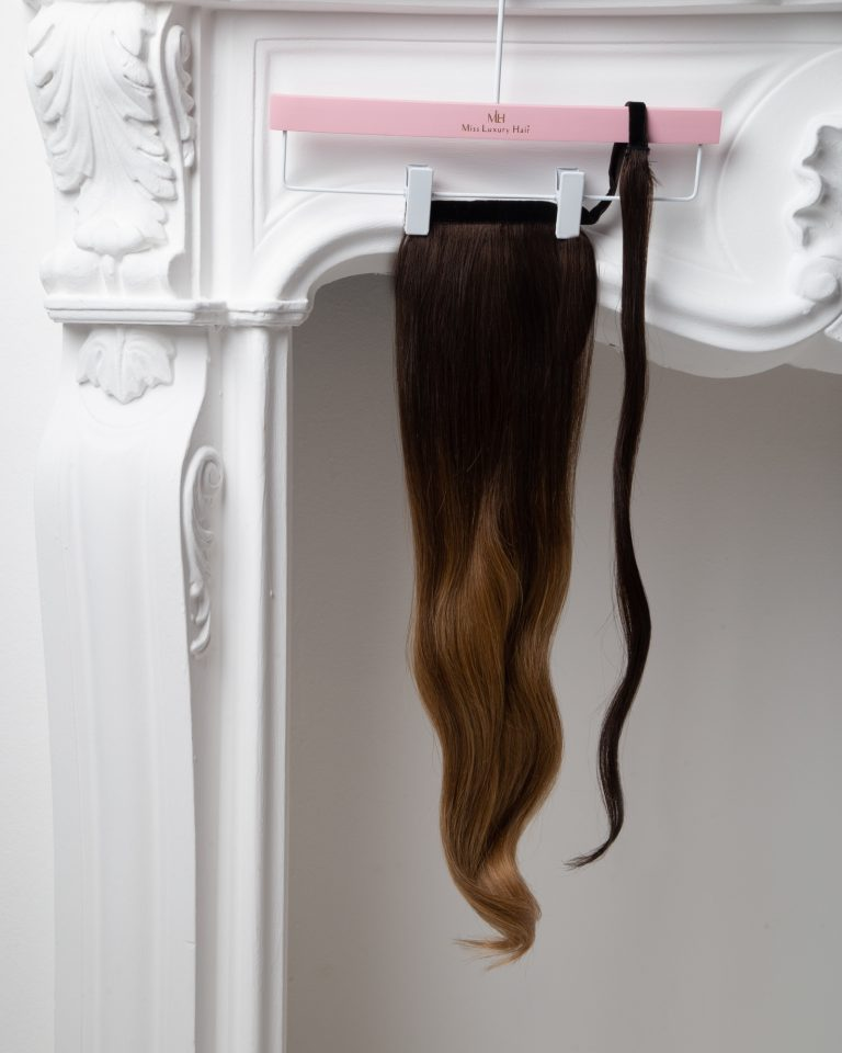 ponytail con sfumature